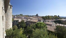Vila de Carcassonne Imagens de Stock Royalty Free