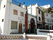 Vila de Casarabonela-Andaluzia-Espanha-Europa Imagens de Stock Royalty Free