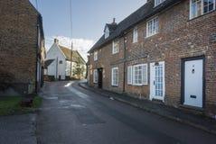 Vila de Chartham, Kent, Reino Unido imagens de stock royalty free