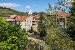 Vila de Coudes, França Fotos de Stock