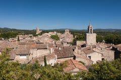 Vila de Cucuron em Provence Fotografia de Stock