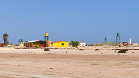 Vila de deserto Wlotzkasbaken, Namíbia Fotografia de Stock Royalty Free