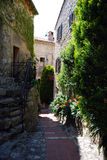 Vila de Eze Fotografia de Stock