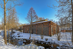 Vila de Fiskars em Raseborg, Finlandia Imagens de Stock Royalty Free