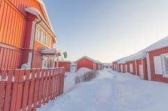Vila de Gammelstad Fotos de Stock