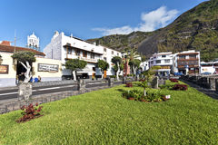 Vila de Garachico na ilha de Tenerife Fotografia de Stock