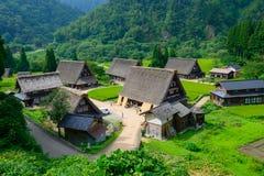 Vila de Gassho-zukuri imagens de stock