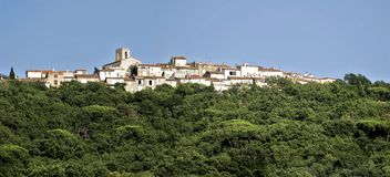Vila de Gassin em France Imagem de Stock Royalty Free