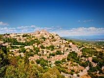 Vila de Gordes no francês Provence Fotografia de Stock