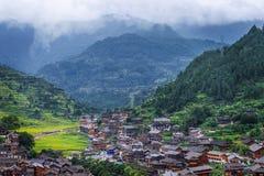 Vila de Hmong Imagem de Stock Royalty Free