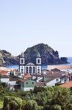 A vila de Lages faz Pico, Açores Imagens de Stock Royalty Free
