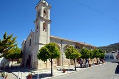 Vila de Lania - Chipre Imagem de Stock Royalty Free