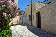 Vila de Lania - Chipre Imagens de Stock Royalty Free
