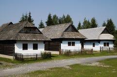 Vila de madeira Foto de Stock
