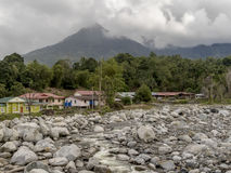 Vila de Malangkap Foto de Stock