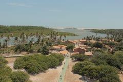 Vila de Mandacaru foto de stock royalty free
