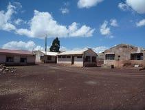 Vila de Maragua na cratera em Cordilheira de los frailes Imagens de Stock