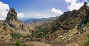 Vila de Masca em Tenerife Foto de Stock