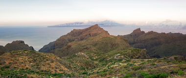 Vila de Masca em Tenerife Fotos de Stock Royalty Free