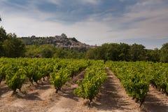 Vila de Menerbes em Provence, France Foto de Stock Royalty Free