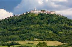 Vila de Motovun em Istria Fotografia de Stock Royalty Free