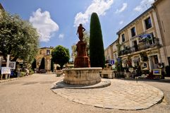 Vila de Mougins, riviera francês. Imagens de Stock Royalty Free