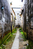 Vila de Nanping, um tipo famoso arquitetura antiga de Huizhou em China Imagem de Stock Royalty Free