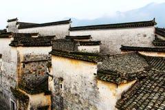 Vila de Nanping, um tipo famoso arquitetura antiga de Huizhou em China imagens de stock