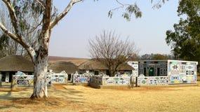 Vila de Ndebele Imagens de Stock