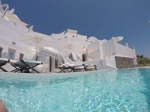 Vila de Oia, Santorini Grécia imagens de stock royalty free