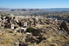 Vila de pedra de Ancinet em Turquia, Médio Oriente fotografia de stock