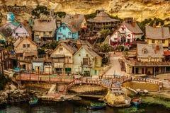 Vila de Popeye Imagem de Stock