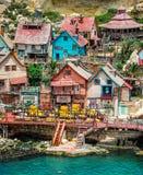 Vila de Popeye Imagem de Stock Royalty Free