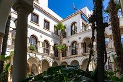 Vila de Roc de Sant Gaieta em Tarragona, Catalonia, Espanha imagem de stock royalty free