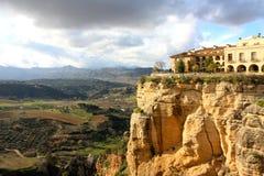 Vila de Ronda na Andaluzia, Spain Imagem de Stock