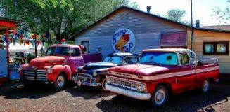Vila de Route 66 imagem de stock