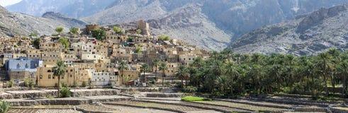 Vila de Sayt calvo nas montanhas de Omã Foto de Stock Royalty Free