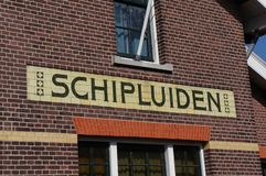 Vila de Schipluiden, os Países Baixos imagem de stock royalty free