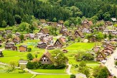 Vila de Shirakawago Fotografia de Stock Royalty Free