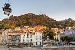 Vila de Sintra foto de stock