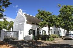 Vila de Stellenbosch Fotos de Stock