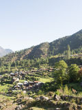 Vila de Tamang em Nepal foto de stock royalty free