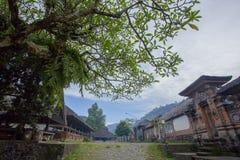 Vila de Tenganan Pegringsingan Imagem de Stock Royalty Free