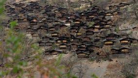 Vila de TongLe Lise People em Weixi Yunnan, China imagens de stock