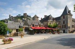 Vila de Turenne Fotos de Stock Royalty Free