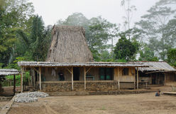 Vila de Wogo, ilha de Flores Fotos de Stock Royalty Free