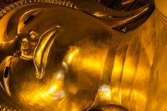 Vila den buddha detaljen Royaltyfri Foto