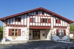 Vila do basque de Sare foto de stock royalty free