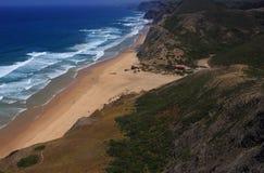Vila Do Bispo, półudniowy-zachód Alentejo i Vicentine Brzegowy Naturalny park, Portugal algarve Obraz Royalty Free
