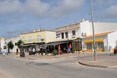 Vila Do Bispo, Portugal royalty-vrije stock afbeeldingen